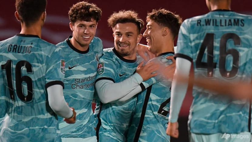 Football: Liverpool's Swiss forward Shaqiri tests positive for COVID-19