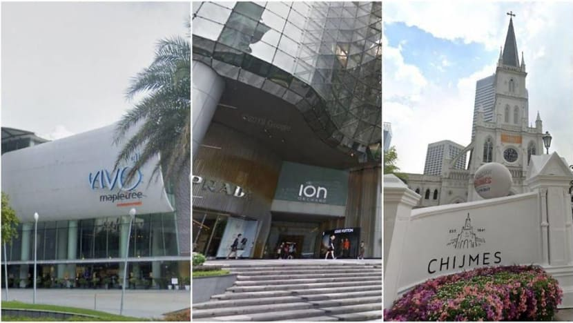 VivoCity, ION Orchard, CHIJMES among places visited by COVID-19 cases during infectious period