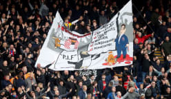 Police say no offence caused by banner at Palace critical of Newcastle deal