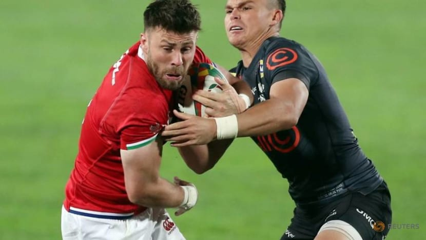 Rugby-Price is right as scrumhalf stakes claim for Lions test starting berth