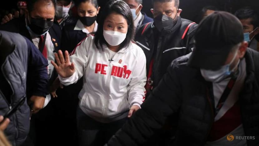 Peru's Fujimori admits defeat in presidential election, lashes out at socialist rival