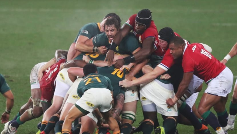 Rugby: Steyn the hero again as South Africa edge Lions to win series