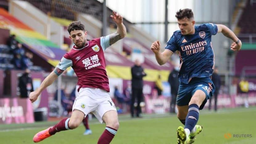 Football: Gunners' Xhaka gaffe gifts Burnley a point