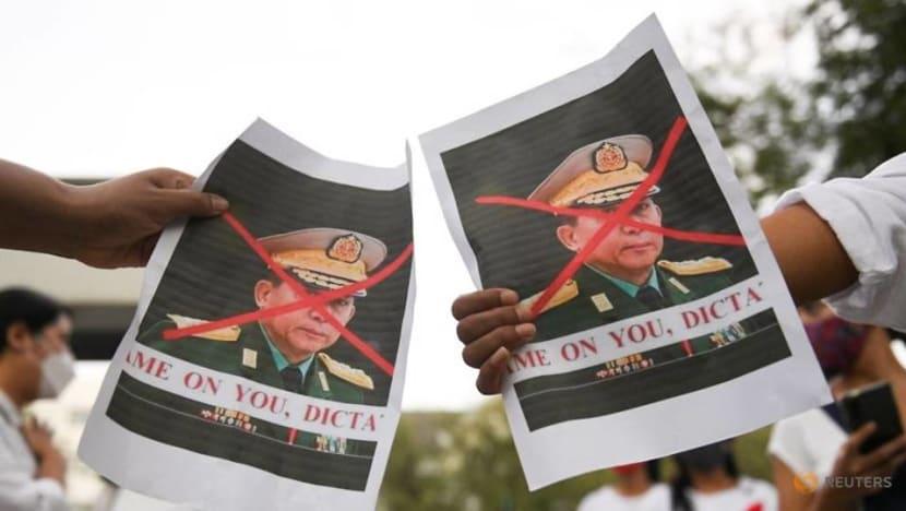 Myanmar junta leader asks Thai counterpart for help on democracy