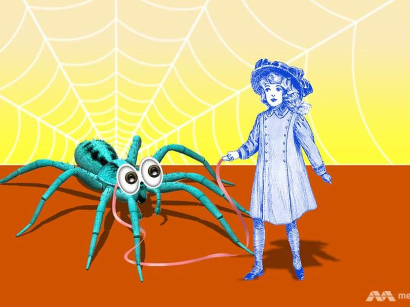 How a spider named Arthur became the best work from home colleague