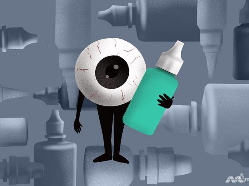 Why you shouldn't use eye drops that are not meant for contact lenses