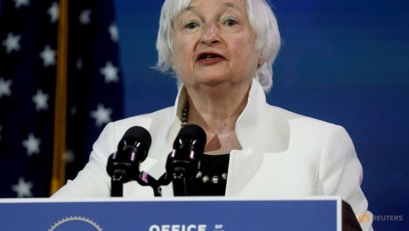 US Treasury's Yellen sees post-COVID growth, possible full employment in 2022