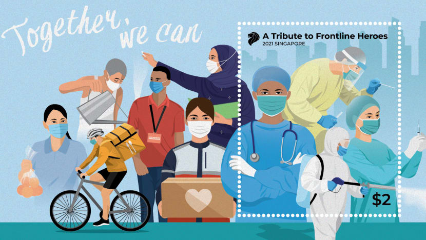 SingPost issues stamps in tribute to COVID-19 frontline workers