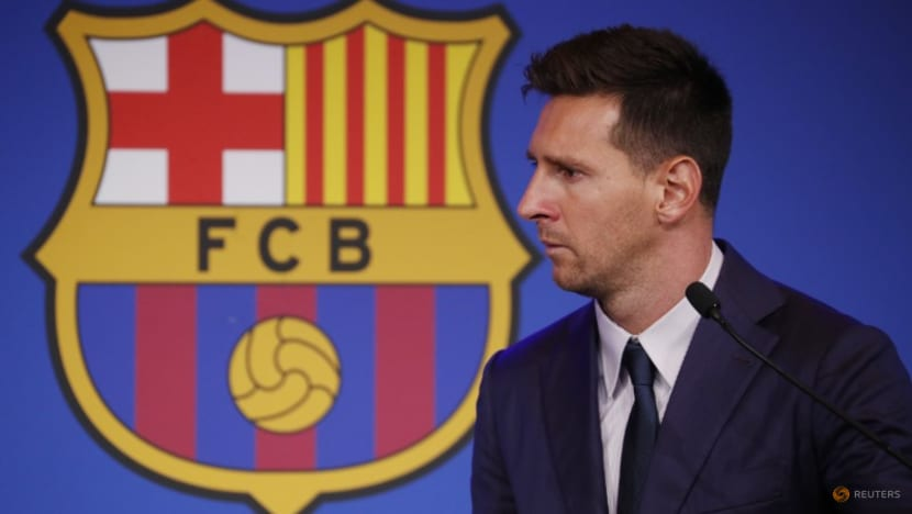 Soccer-Barca fans 'devastated' at Messi exit, one files legal complaints
