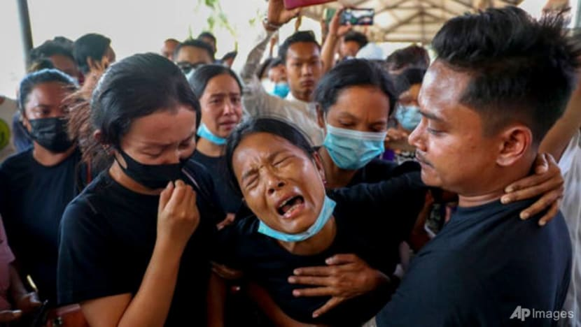 Myanmar activists say more than 800 killed by security forces since coup