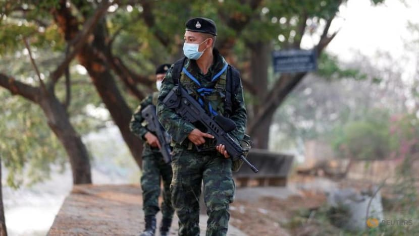 Thai army denies supplying rice to Myanmar forces