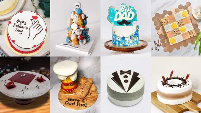 父亲节蛋糕精选 让爸爸尝甜头