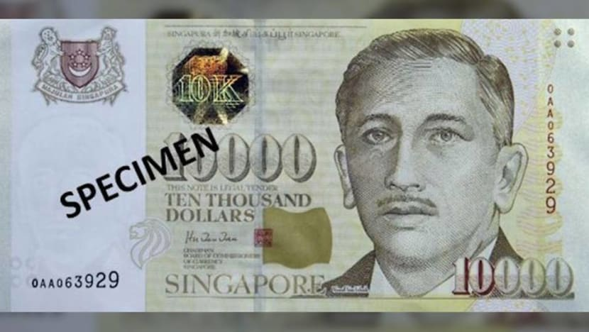 Man, 61, arrested for depositing fake S$10,000 note given to him by 'unknown foreign man'