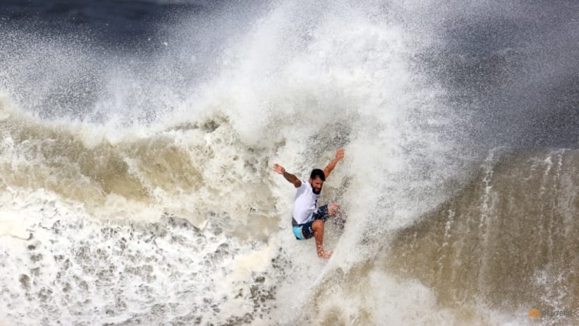 Olympics-Surfing-Brilliant riders look to the future after Olympic debut splash