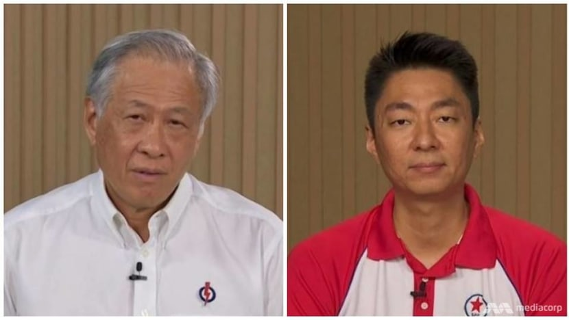 GE2020: In Bishan-Toa Payoh broadcast, PAP highlights jobs and community programmes while SPP calls for a 'balanced Parliament'