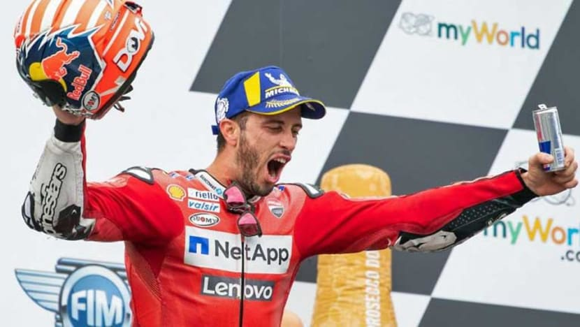 Motorcycling: Dovizioso pips Marquez to win Austrian MotoGP