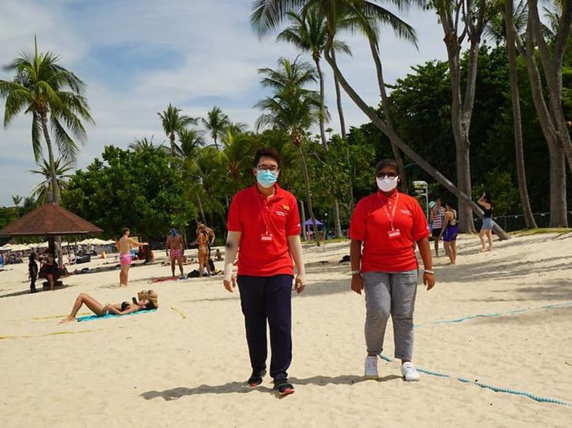 COVID-19: Sentosa beachgoers required to make reservations during peak periods from Oct 17