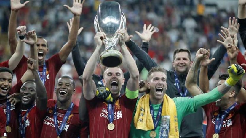 Football: Liverpool beat Chelsea on penalties to win UEFA Super Cup