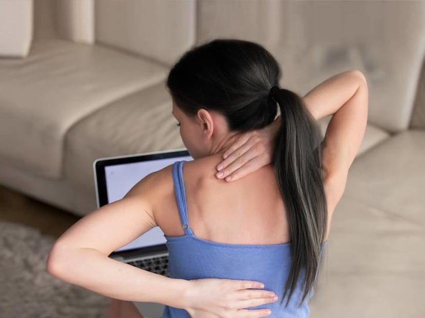 Working from home is taking its toll on our bodies: How to deal with backaches and sprains