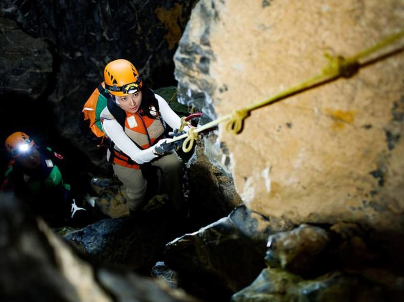 Journey to the centre of the earth on a caving expedition in Vietnam
