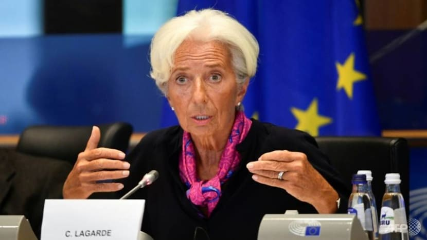ECB's Lagarde in spotlight as policy on hold