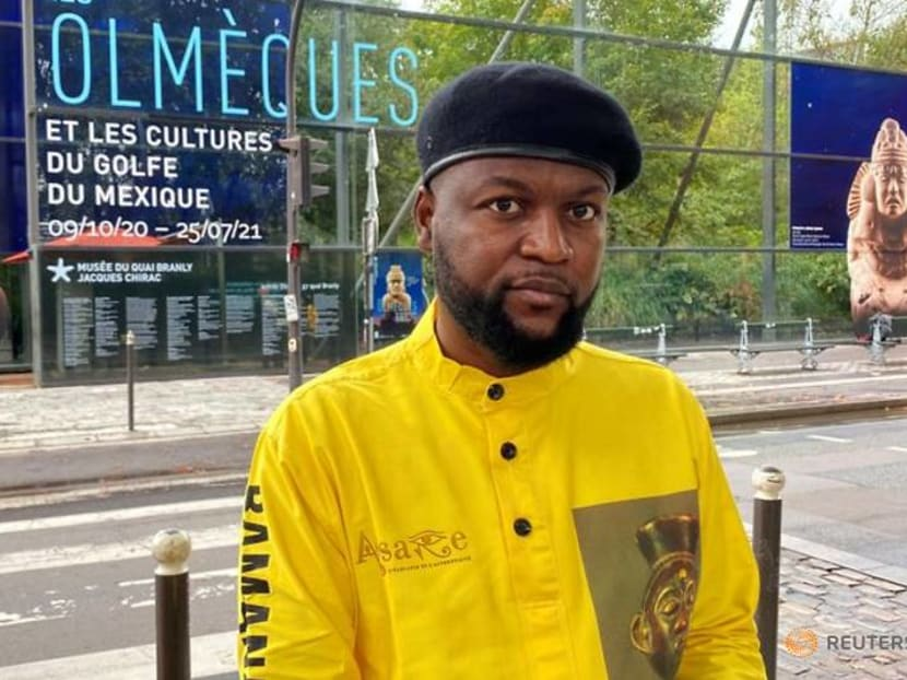 Seizing art: One African man's protest against colonial 'pillagers'