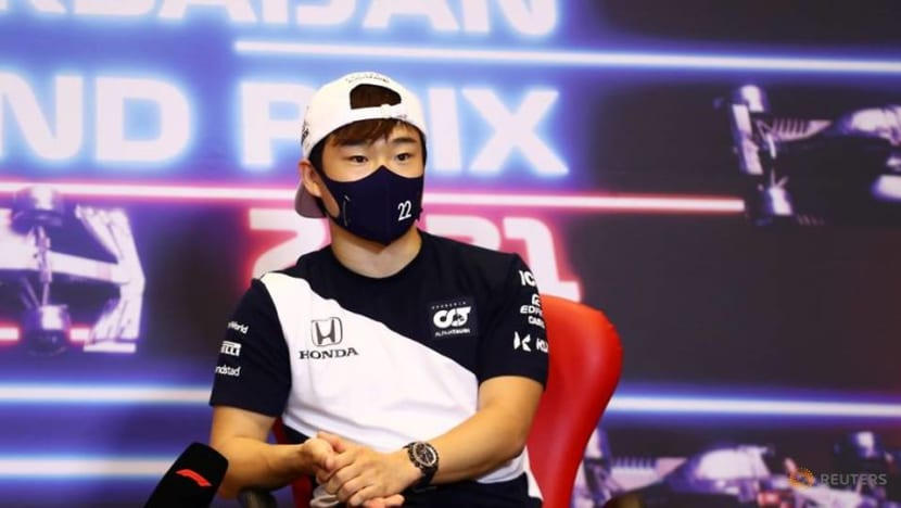 Motor racing-Tsunoda says Red Bull asked him to move to Italy