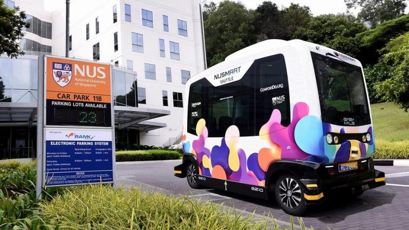 ComfortDelGro to trial driverless shuttle bus at NUS