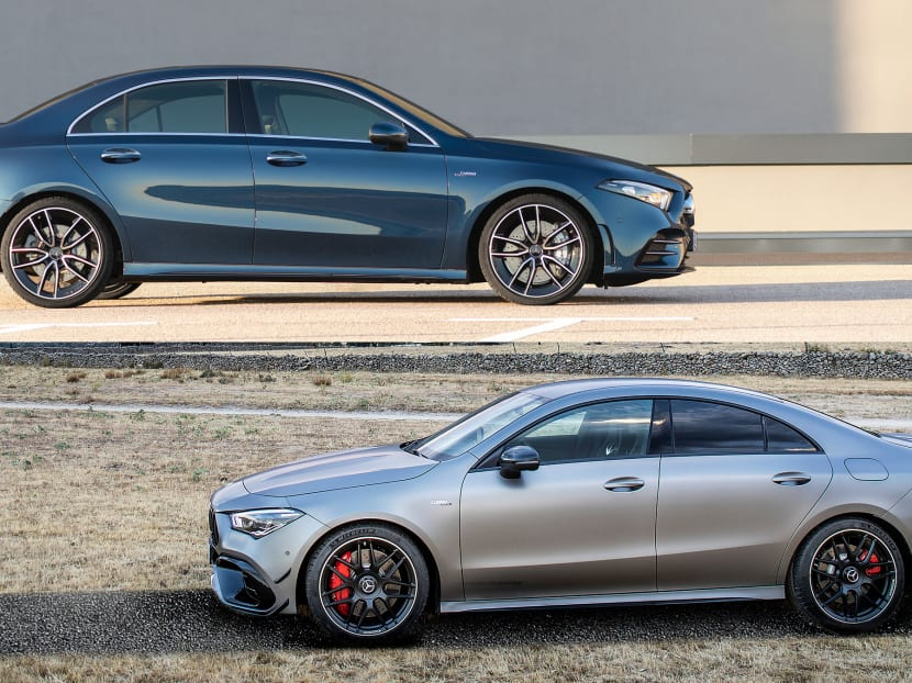 What's the difference between these two Mercedes-Benzes? S$70,000, for starters