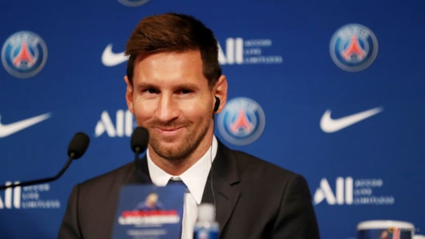 Football: Messi back in training after joining PSG