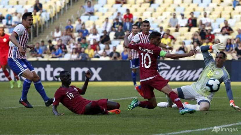 Football: Qatar hit back to snatch Paraguay draw in Copa America debut