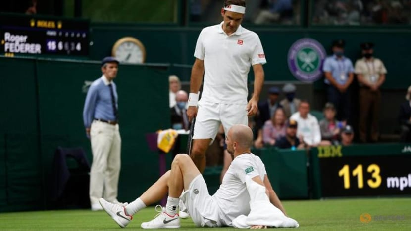 Tennis-Wimbledon defends 'slippery' courts after Serena injury