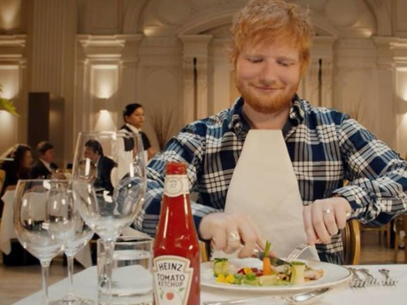 Ed Sheeran gets his own line of ketchup and people are calling it 'Edchup'