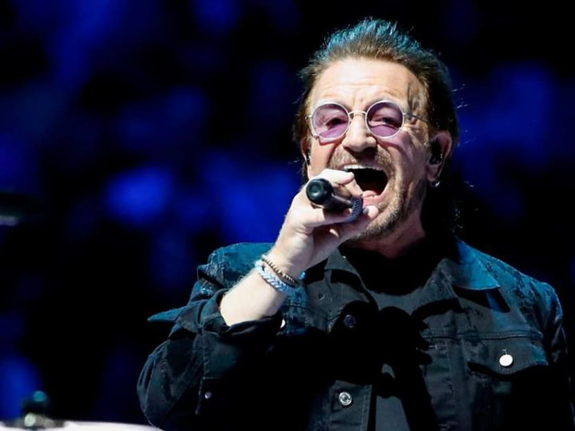 Watch: U2's Bono wrote a new song to lift up spirits during the pandemic