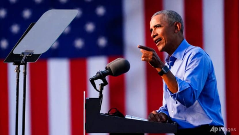 Obama blasts Trump's tweets, track record in 2020 campaign trail debut