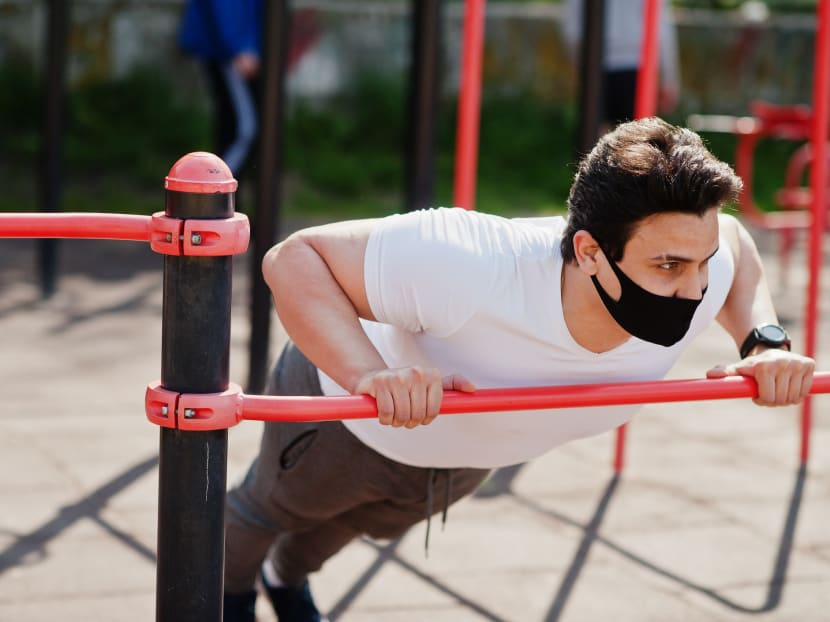 Will wearing a mask during workouts actually make exercise harder?