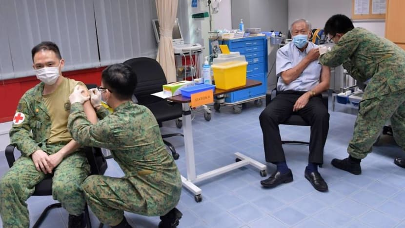 COVID-19 vaccinations begin for Singapore Armed Forces personnel