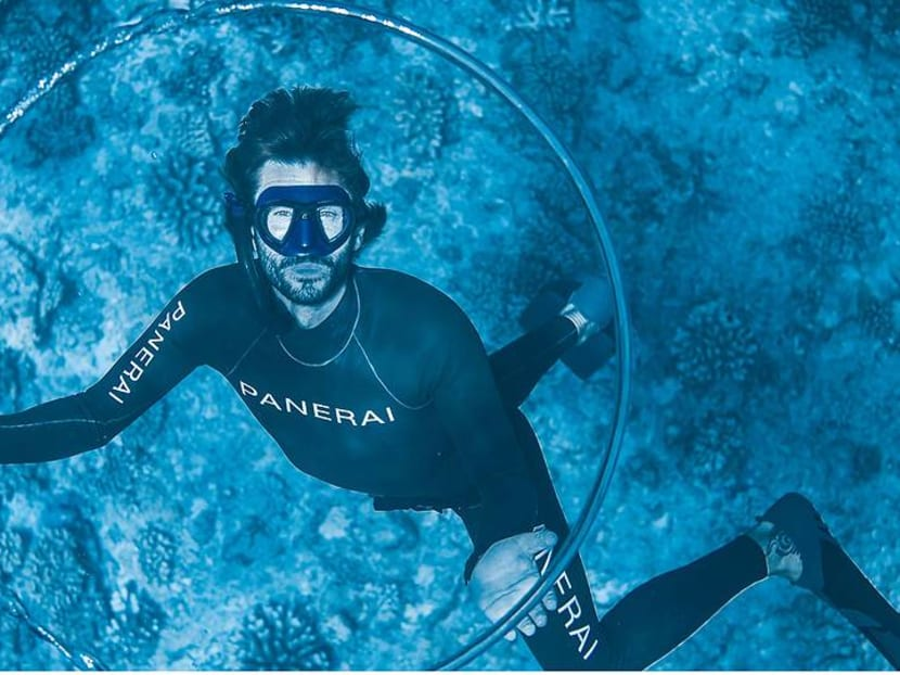 What does this champion freediver, who survived a near-death experience, have to do with Beyonce?