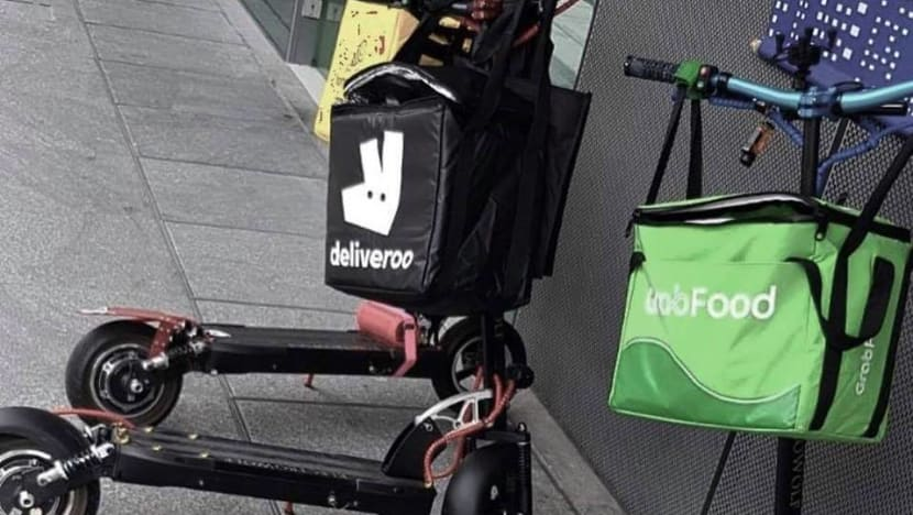 Deliveroo to stop working with food delivery riders who use e-scooters on footpaths