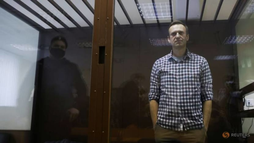 Western countries call on Russia at UN rights body to release Navalny