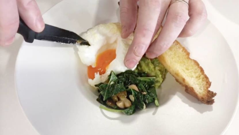 Easy home recipe: Buona Terra's egg souffle with avocado and spinach