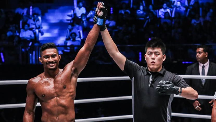 From clerk to MMA world title contender: Singapore's Amir Khan fights to reach the top of his sport
