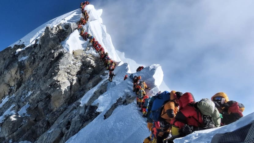 Commentary: The journey up your career Everest is full of challenges. Here's how to conquer it