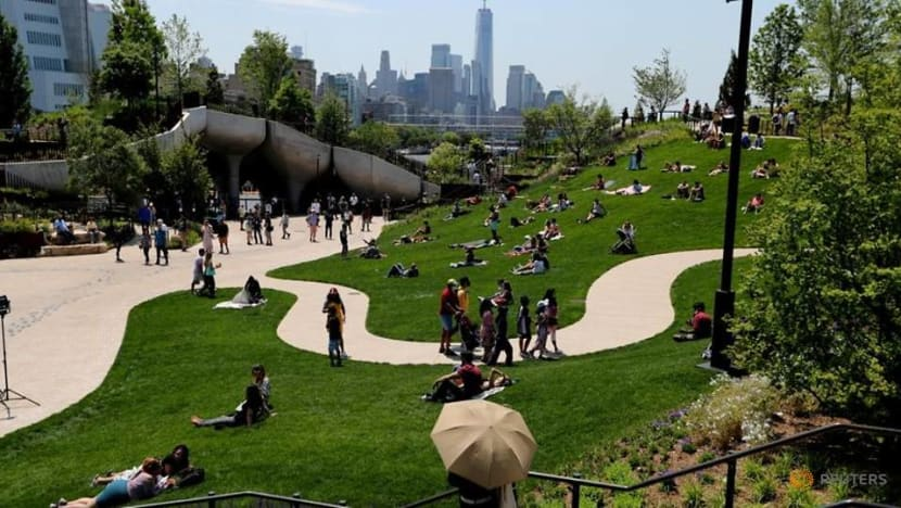 Little Island, a park built by a billionaire, transforms Manhattan's West Side