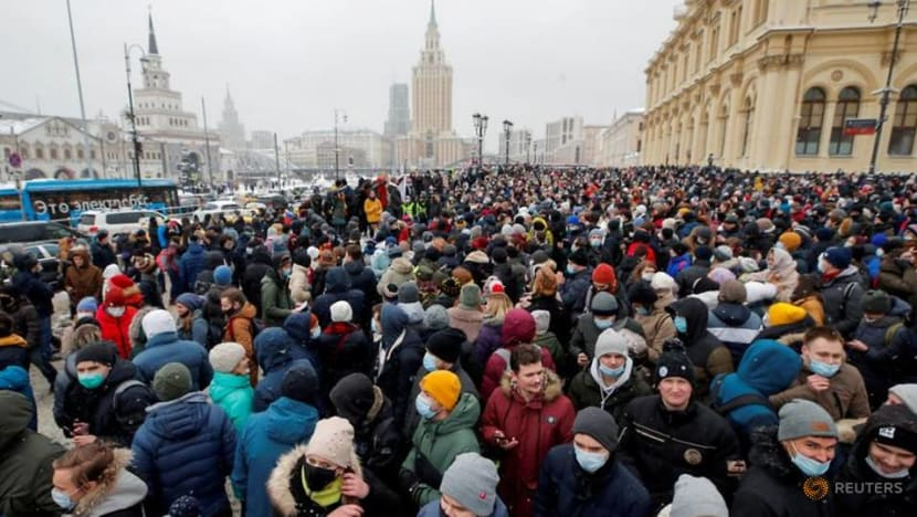 'Face control': Russian police go digital against protesters