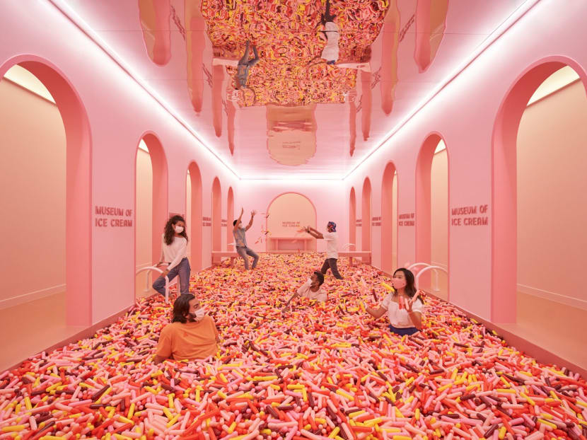 Ready for the sugar rush? Museum of Ice Cream Singapore is now open