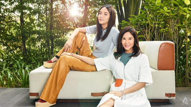 Like daughter, like mother: Chantalle Ng and Lin Mei Jiao's beauty secrets revealed