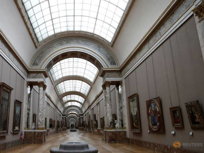 Paris' Louvre museum visitors fell by three quarters in 2020 due to COVID crisis