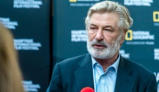 Alec Baldwin seen consoling family of cinematographer he accidentally killed on movie set