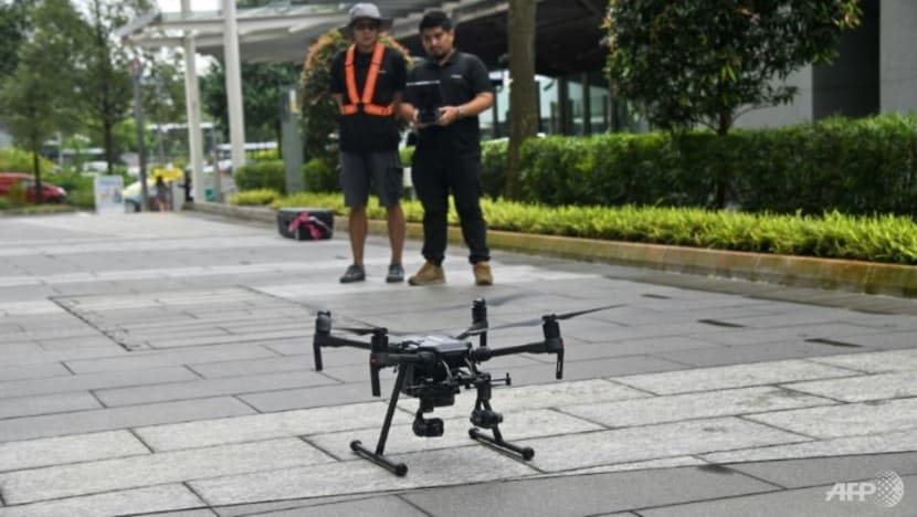 Singapore to launch maritime drone zone, mulls mandatory registration of drones